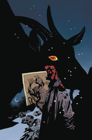 Hellboy: Krampusnacht #1 (Mignola Cover)