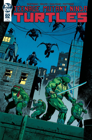 Teenage Mutant Ninja Turtles #92 (10 Copy Walsh Cover)