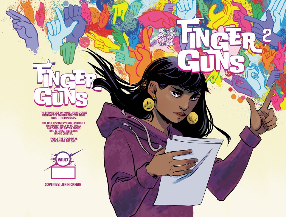 Finger Guns #2 (Hickman Cover)