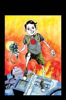 Bloodshot: Reborn #14 (120 Copy Linewide Lemire Cover)