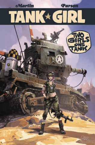 Tank Girl: Two Girls, One Tank #4 (McQue Cover)