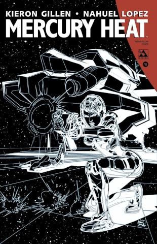 Mercury Heat #8 (Intersteller Cover)