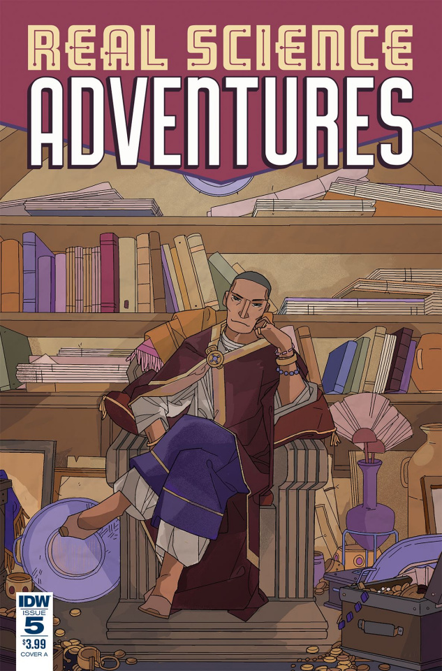 Real Science Adventures: Nicodemus Job #5 (Goux Cover)