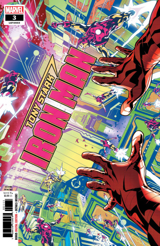 Tony Stark: Iron Man #3 (Schiti 2nd Printing)