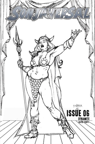 Sonjaversal #6 (20 Copy Linsner B&W Cover)