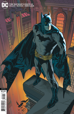 The Batman's Grave #12 (Kevin Nowlan Cover)