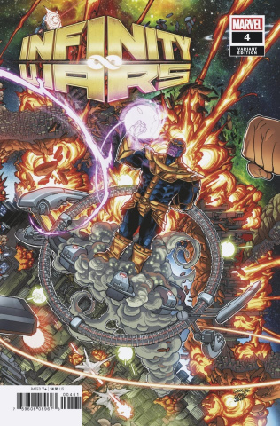 Infinity Wars #4 (Garron Connecting Cover)