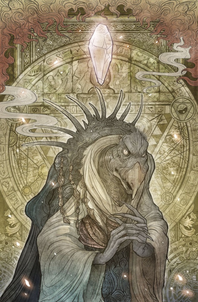 The Power of the Dark Crystal #5 (Subscription Cover)