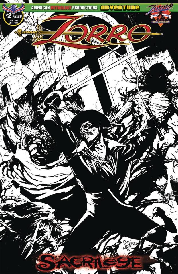 Zorro: Sacrilege #2 (Limited Edition Cover)