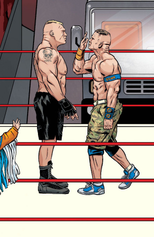 WWE #18 (Schoonover RAW Connecting Cover)