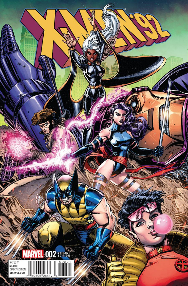 X-Men '92 #2 (Chin Cover)