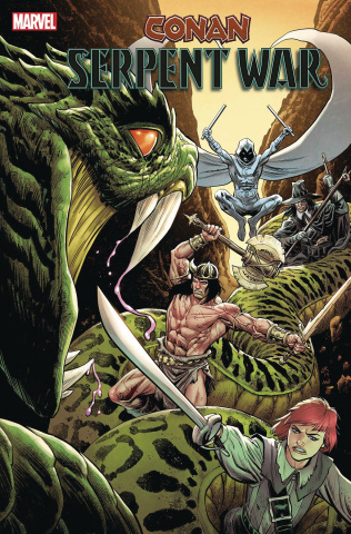 Conan: Serpent War #2 (Luke Ross Cover)
