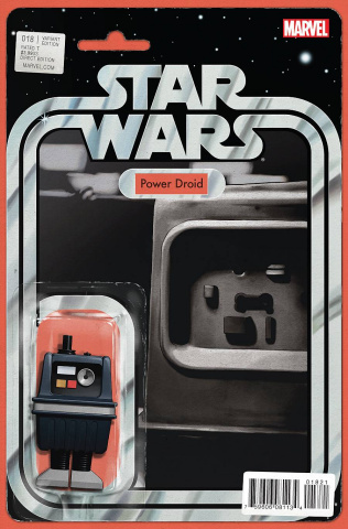 Star Wars #18 (Christopher Action Figure Cover)