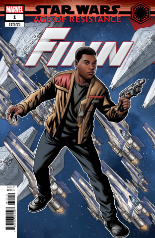 Star Wars: Age of Resistance - Finn #1 (Mckone Puzzle Cover)