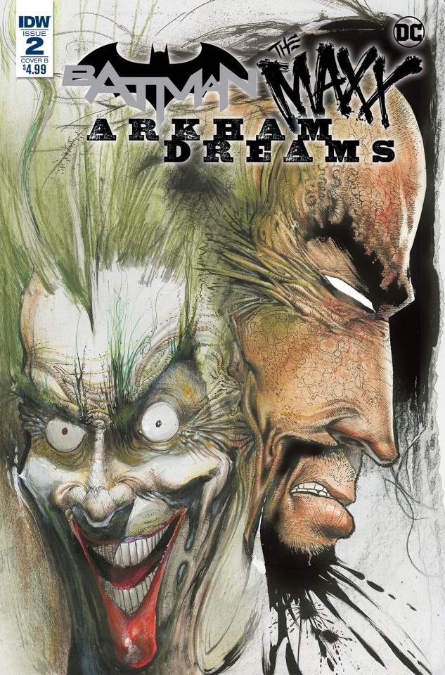 Batman / The Maxx: Arkham Dreams #2 (Kieth Cover)