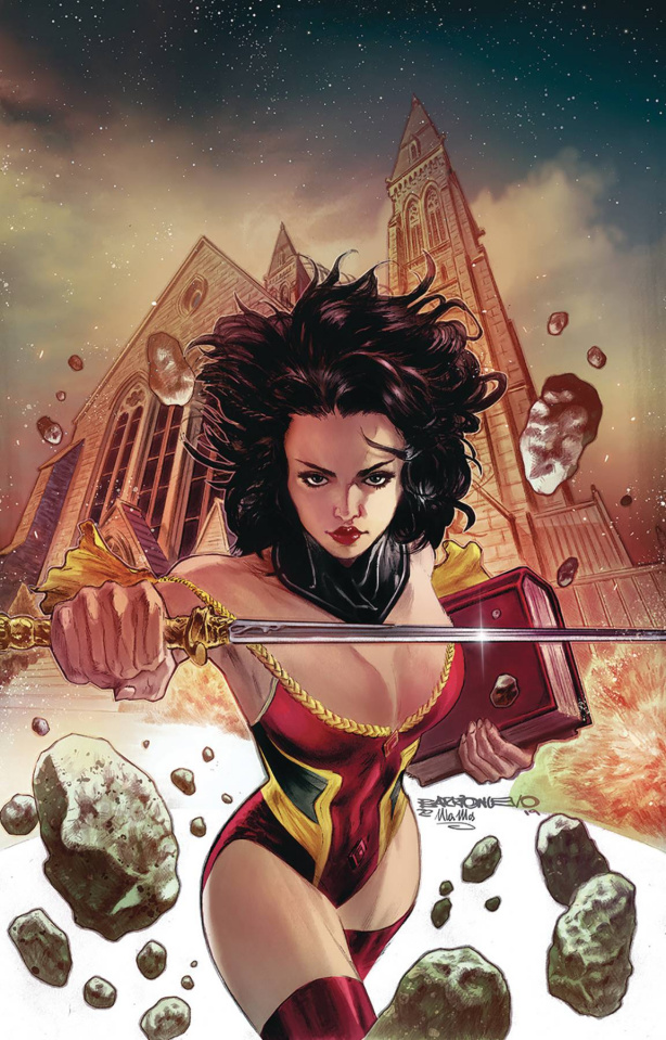 Grimm Fairy Tales #38 (Barrionuevo Cover)