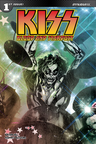 KISS: Blood and Stardust #1 (Sayger Catman Cover)