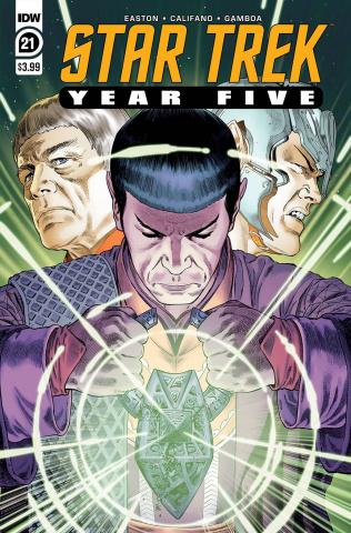 Star Trek: Year Five #21