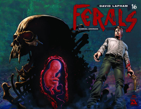 Ferals #16 (Wrap Cover)