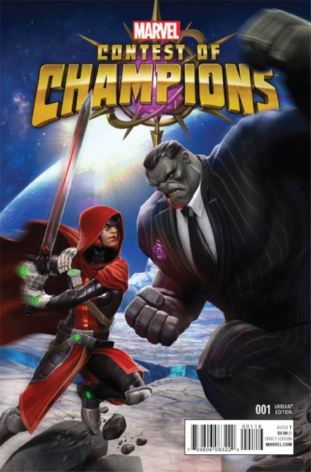 Contest of Champions #1 (Contest of Champions Game Cover)