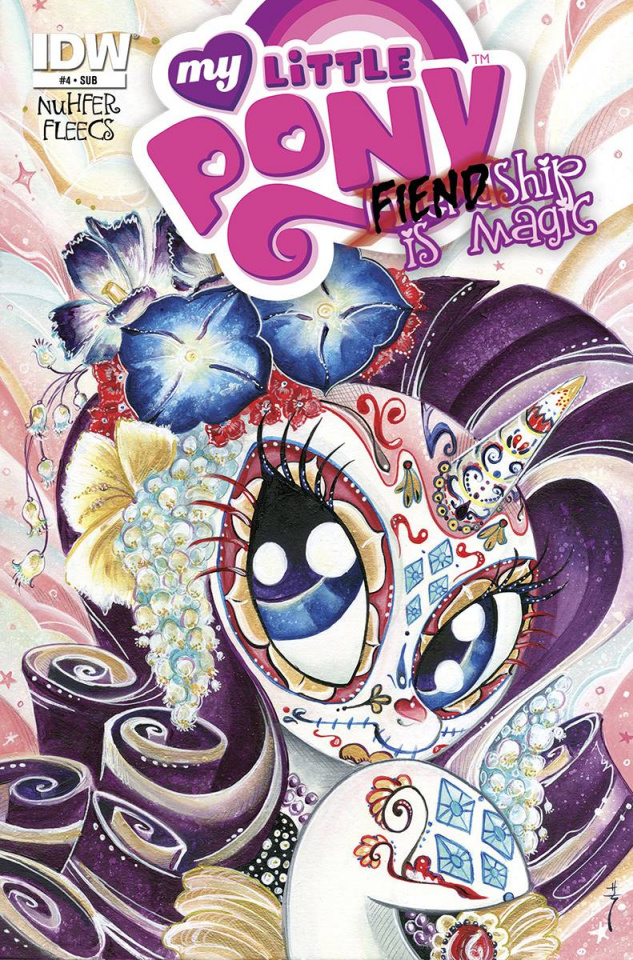 My Little Pony: Fiendship Is Magic #4 (Subscription Cover)