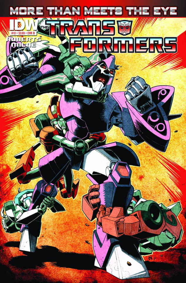 The Transformers: More Than Meets the Eye #13