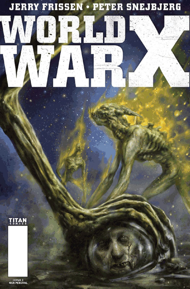 World War X #3 (Percival Cover)