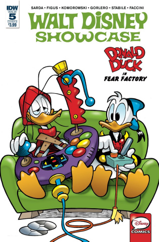 Walt Disney Showcase #5: Donald Duck Family (Freccero Cover)