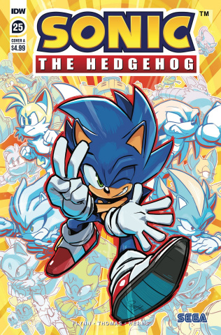 Sonic the Hedgehog #25 (Hesse Cover)