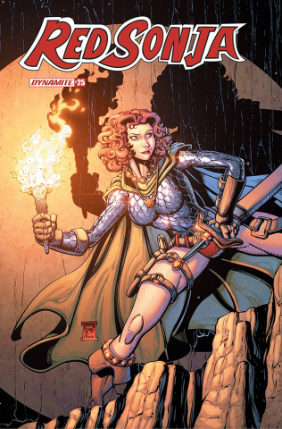 Red Sonja #25 (Robson Cover)