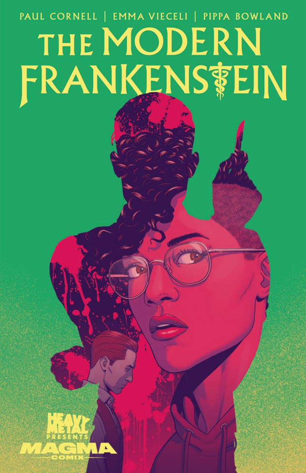 The Modern Frankenstein #1 (10 Copy McKelvie Cover)