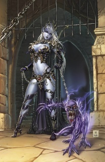 Grimm Fairy Tales: Escape From Monster Island #1 (Krome Cover)