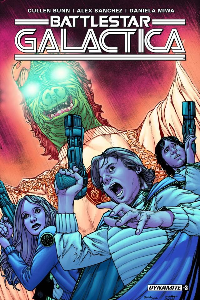 Battlestar Galactica #3 (Sanchez Cover)