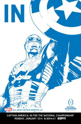 All-New Captain America #3 (IN Cover)