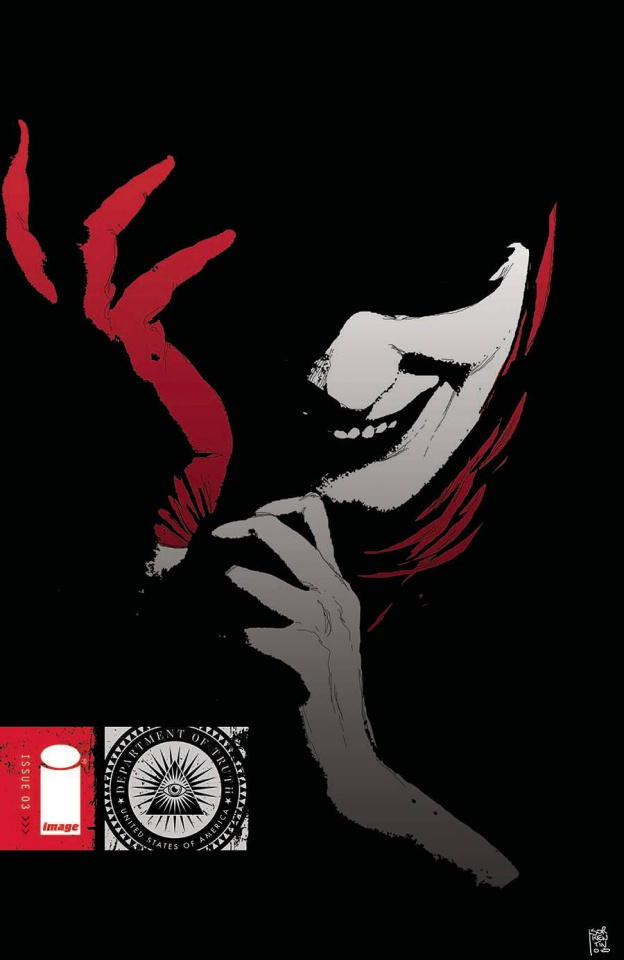 The Department of Truth #3 (Sorrentino Cover)