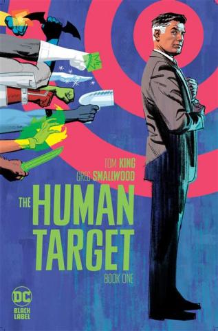 Human Target #1 (Greg Smallwood Cover)