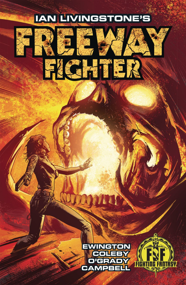 Freeway Fighter #2 (Coleby Cover)