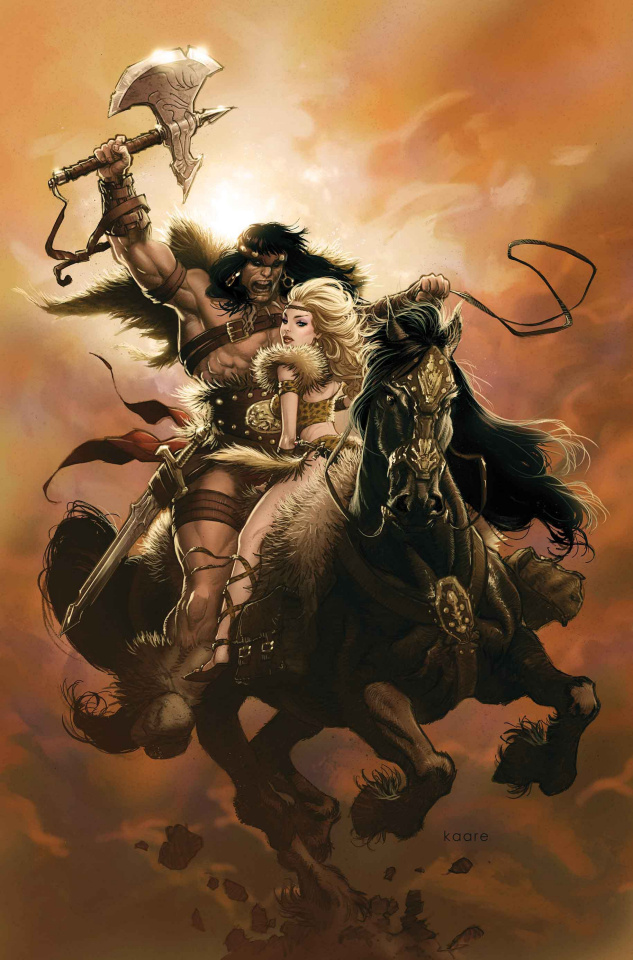 The Savage Sword of Conan #3 (Andrews Cover)