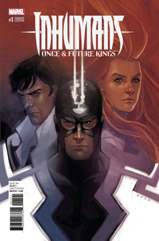 Inhumans: Once & Future Kings #1 (Noto Cover)