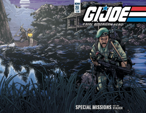 G.I. Joe: A Real American Hero #251 (Sanchez Cover)