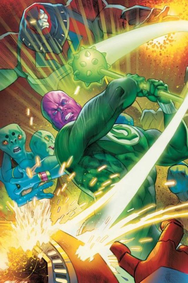 Flashpoint: Abin Sur, The Green Lantern #3