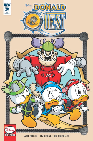 Donald Quest #2 (10 Copy Cover)