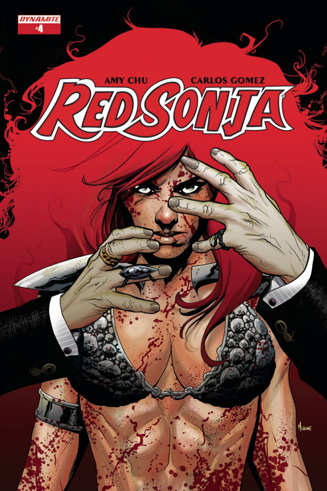 Red Sonja #4 (McKone Cover)