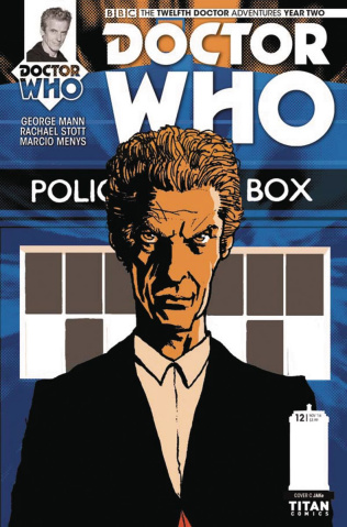 Doctor Who: New Adventures with the Twelfth Doctor, Year Two #12 (Jake Cover)