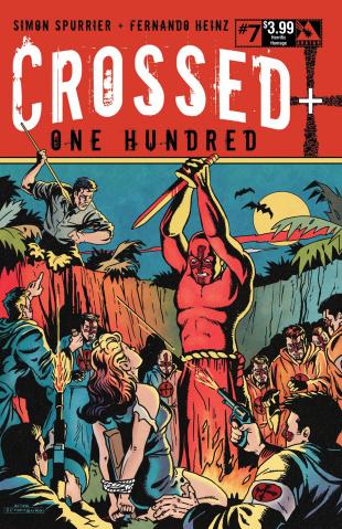 Crossed + One Hundred #7 (Horrific Homage Cover)