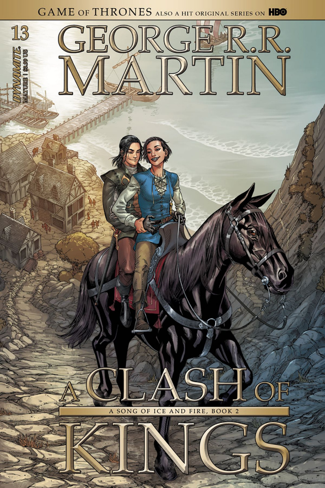 A Game of Thrones: A Clash of Kings #13 (Miller Cover)