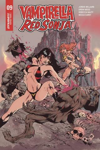 Vampirella / Red Sonja #9 (Castro Cover)