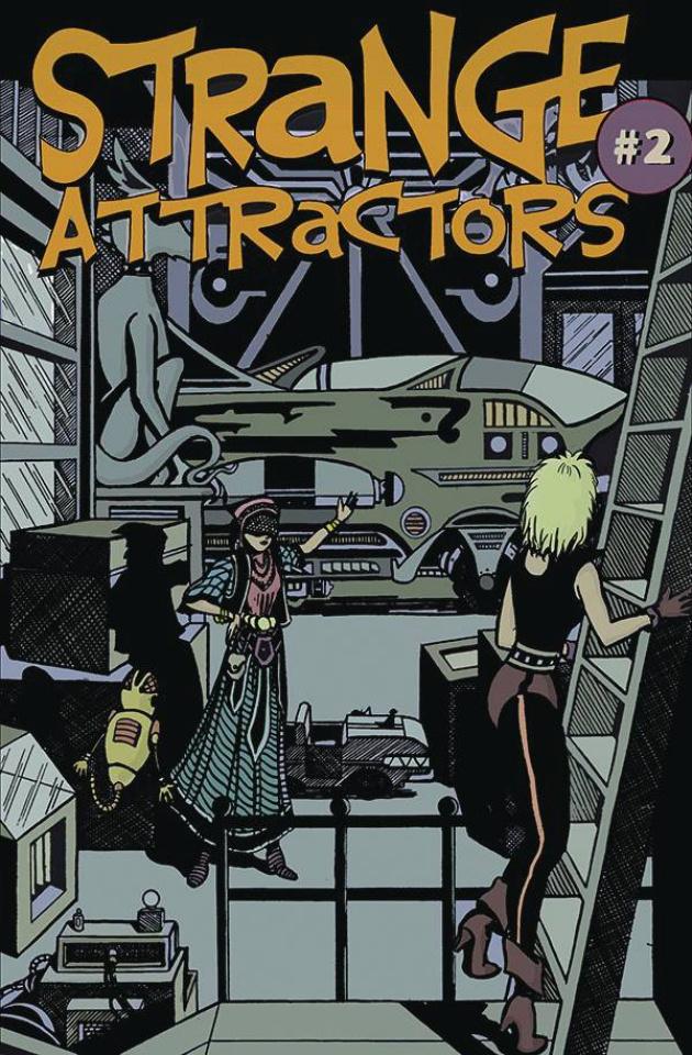 Strange Attractors #2 (Michael Cohen Cover)