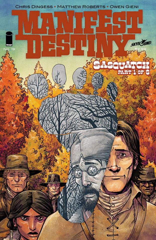 Manifest Destiny #19 (Roberts Akins & Gieni Cover)