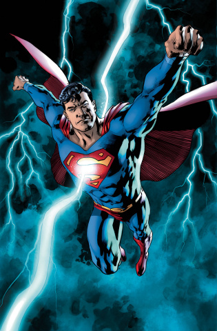 Superman #23 (Bryan Hitch C over)